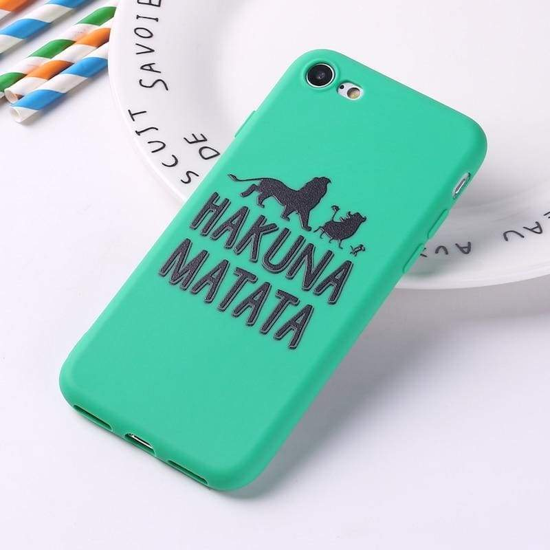 Lion King iPhone Case Cover - 7 / For iPhone 5 5S SE - Fitted Cases