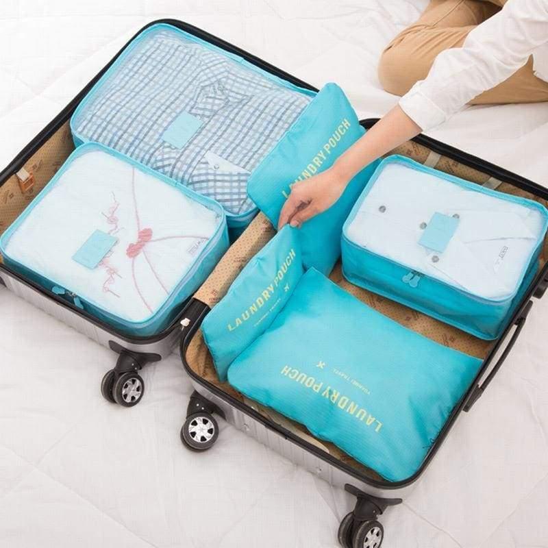 Luggage Packing Organizer Set - Storage Bags