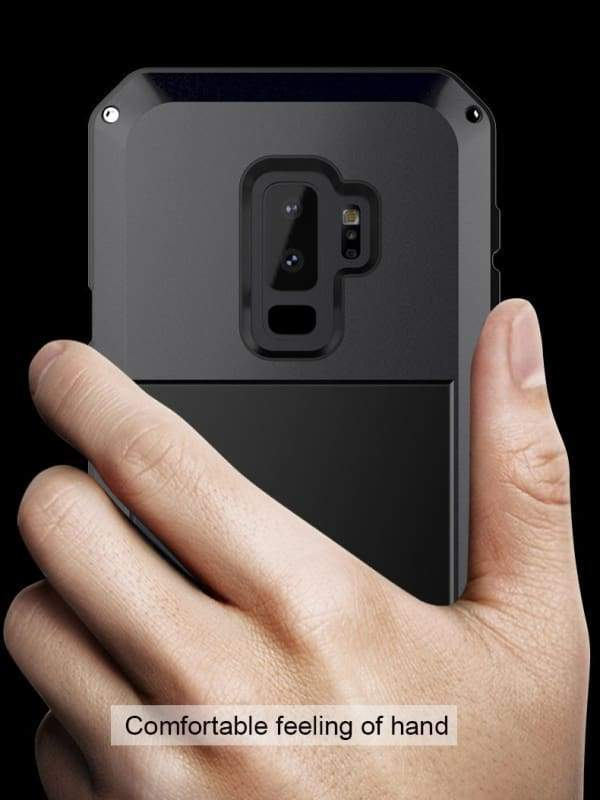 Luxury Doom Armor Metal Heavy Duty Samsung Phone Case Protection - Fitted Cases