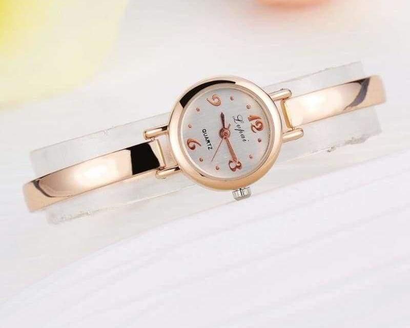Luxury Women Bracelet Watches - Rose Gold White 4 - Womens Watches