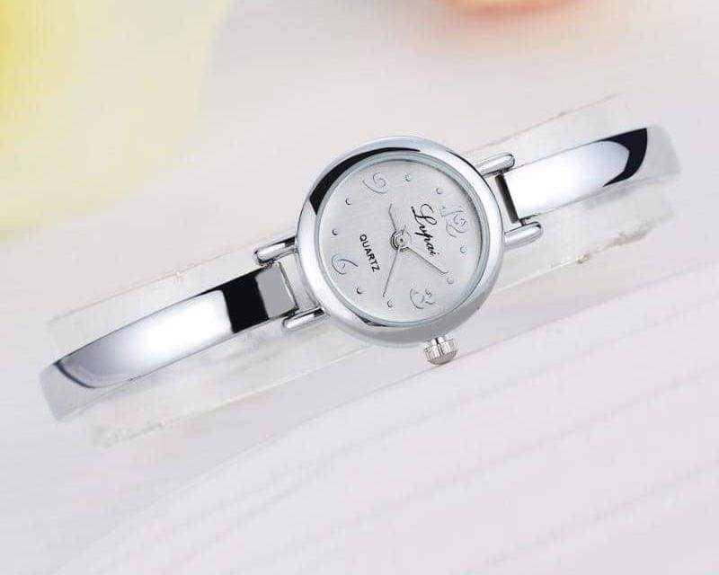 Luxury Women Bracelet Watches - Silver White 4 - Womens Watches
