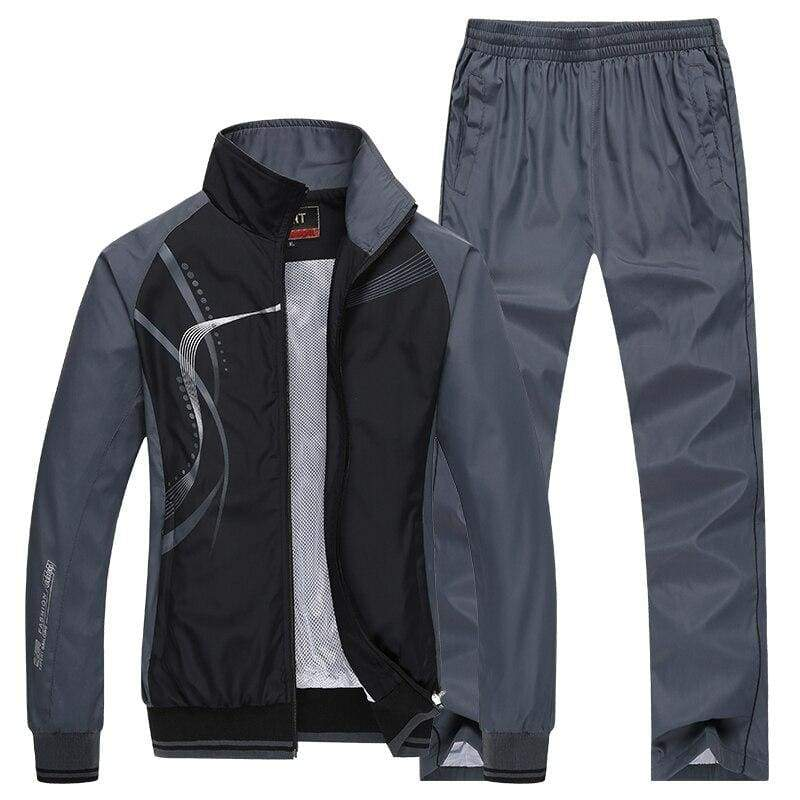 Men Sportswear Spring Autumn - Black / L - Sportswear