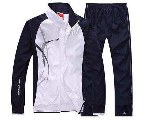 Men Sportswear Spring Autumn - white / L - Sportswear