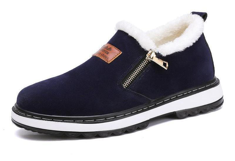 Mens warm plush boots - Snow Boots