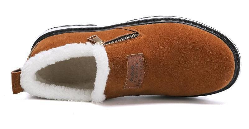 Mens warm plush boots - Snow Boots