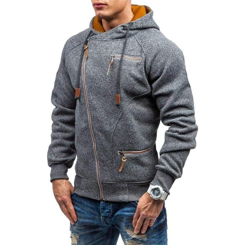 Men zipper hoodie Just For You - Hoodies & Sweatshirts