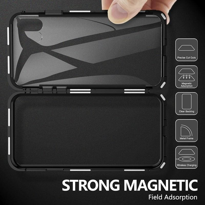 Metal Magnetic Case for iPhone & Samsung - Fitted Cases