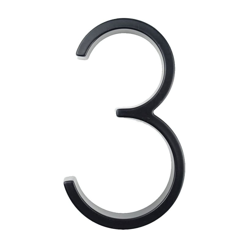 Modern House Number Just For You - 3 - Door Plates