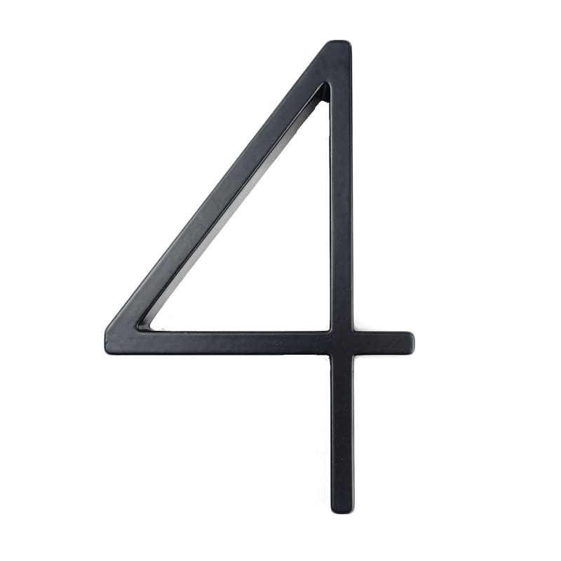 Modern House Number Just For You - 4 - Door Plates