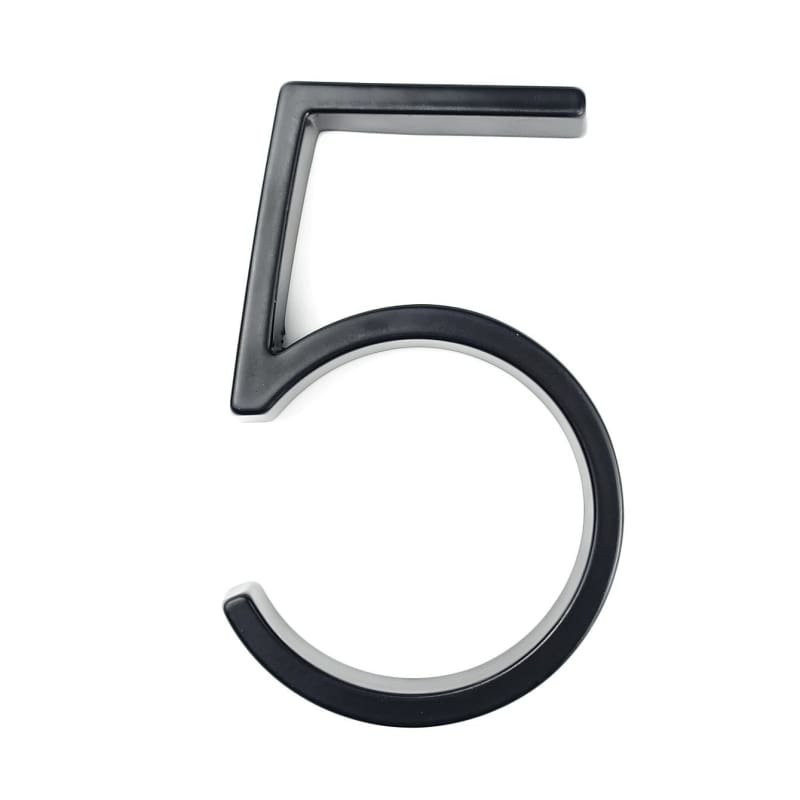 Modern House Number Just For You - 5 - Door Plates