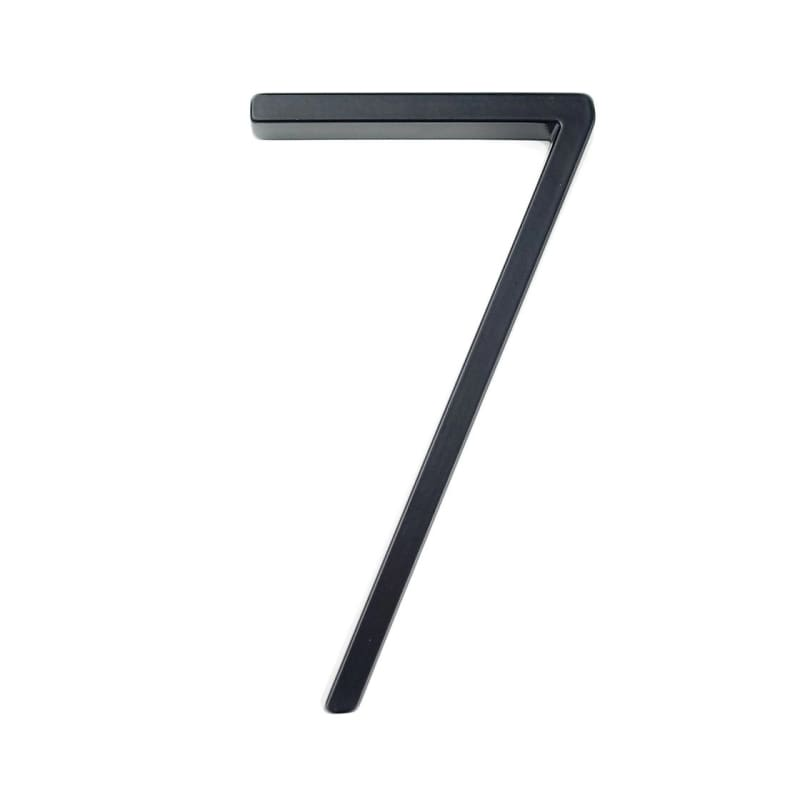 Modern House Number Just For You - 7 - Door Plates