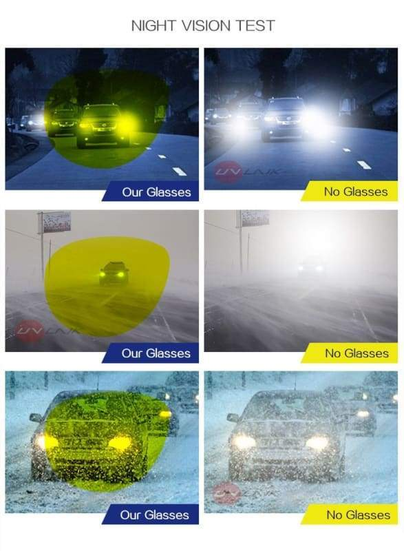 Night Vision Driving Glasses - Sunglasses