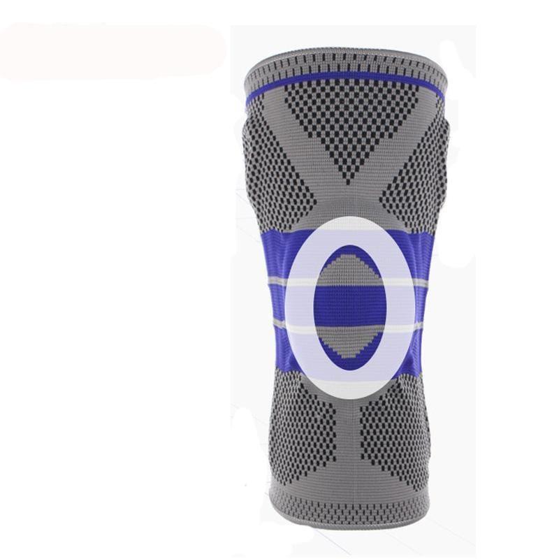Nylon Silicon Knee Sleeve - Elbow & Knee Pads