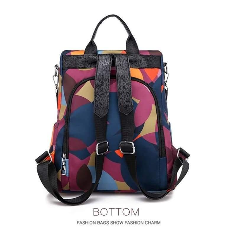 Oxford Anti-Thief Backpack - Backpacks