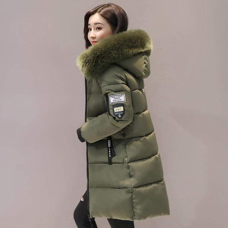 Parka Winter Coats Women Just For You - Army Green / XS - Women Coat