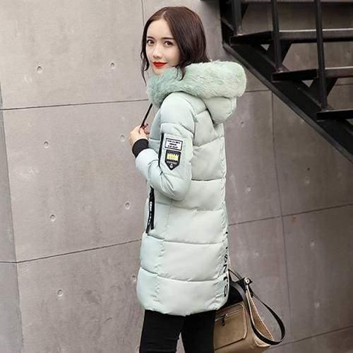 Parka Winter Coats Women Just For You - Green / XS - Women Coat