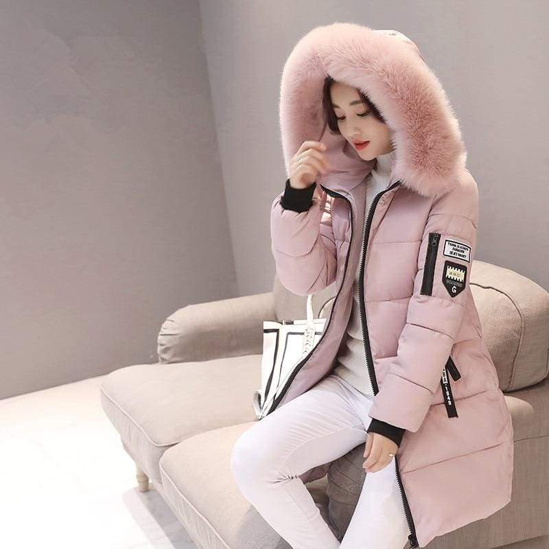 Parka Winter Coats Women Just For You - Pink / XS - Women Coat