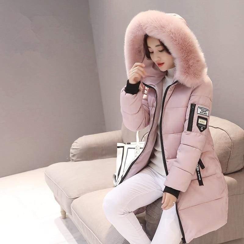 Parka Winter Coats Women Just For You - Pink / XS - Women Coat