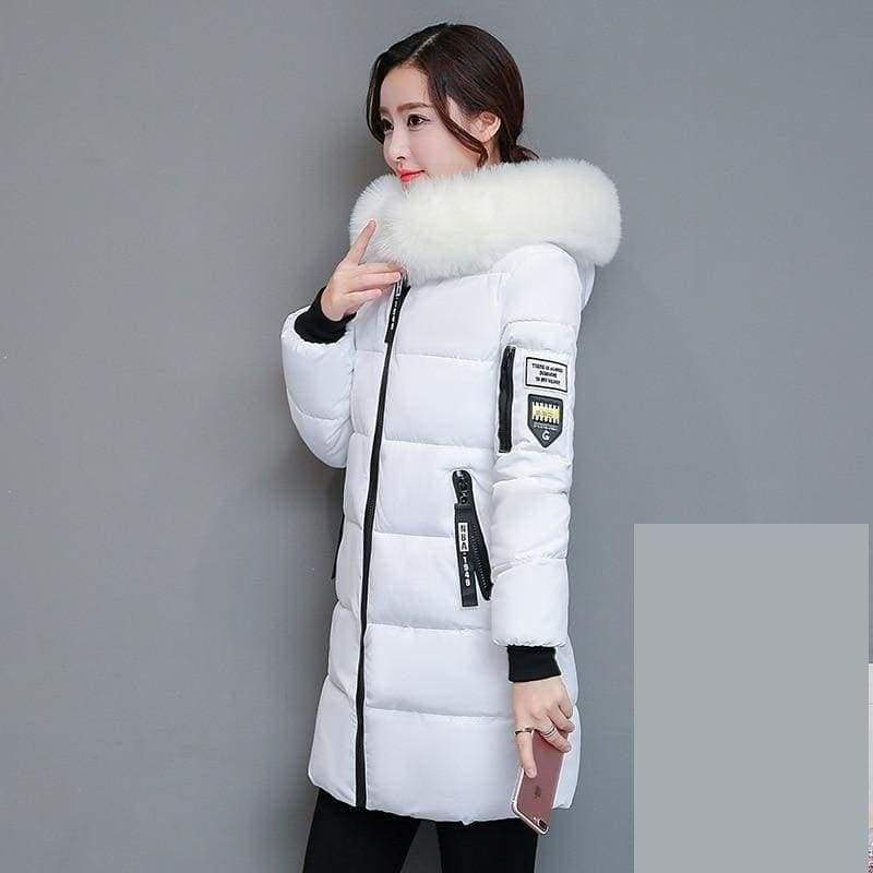 Parka Winter Coats Women Just For You - White / XS - Women Coat