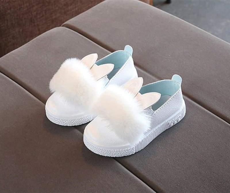 PomPom Bunny Sneaker - C / 13.5 - Sneakers