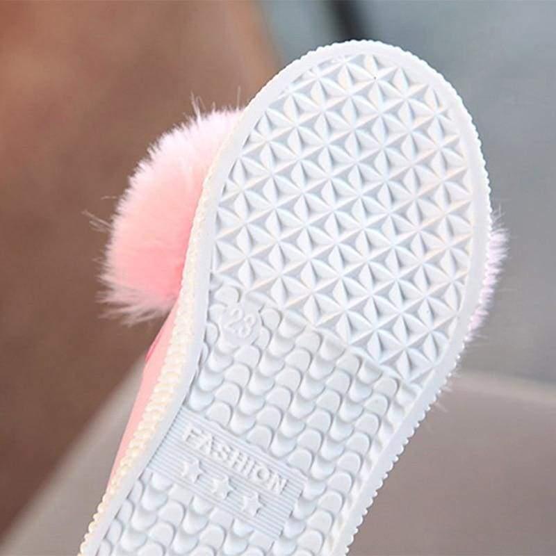 PomPom Bunny Sneaker - Sneakers