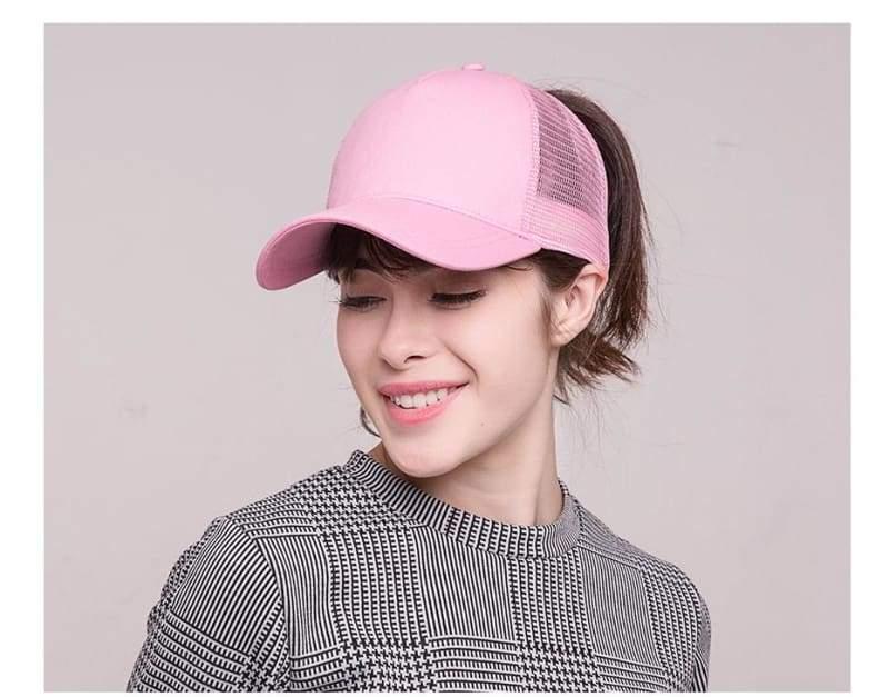 Ponytail Baseball Cap - Baseball Caps