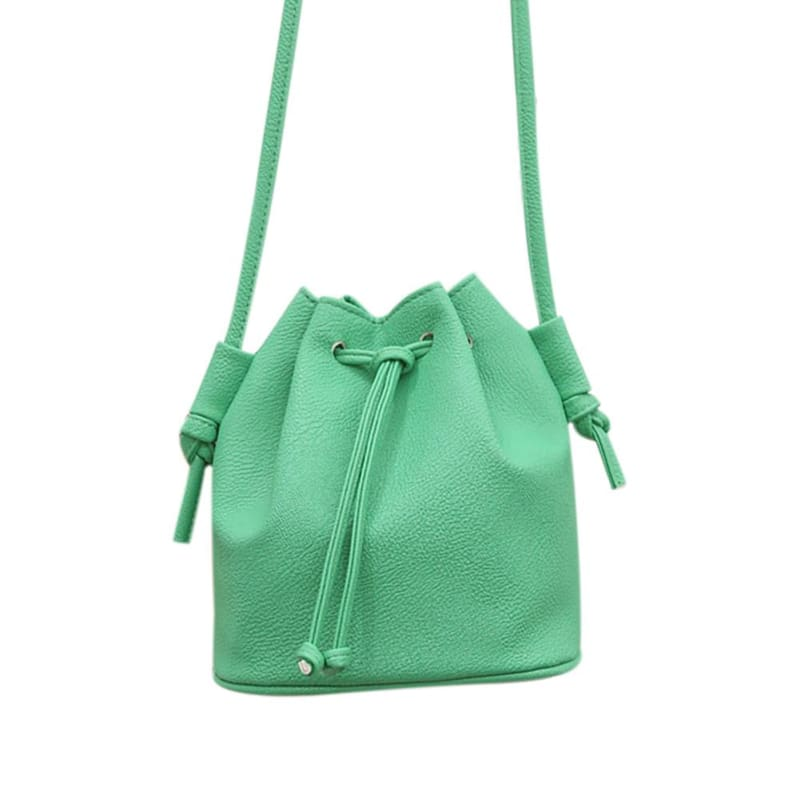 Small Womens Messenger Bag - Green - Shoulder Bags
