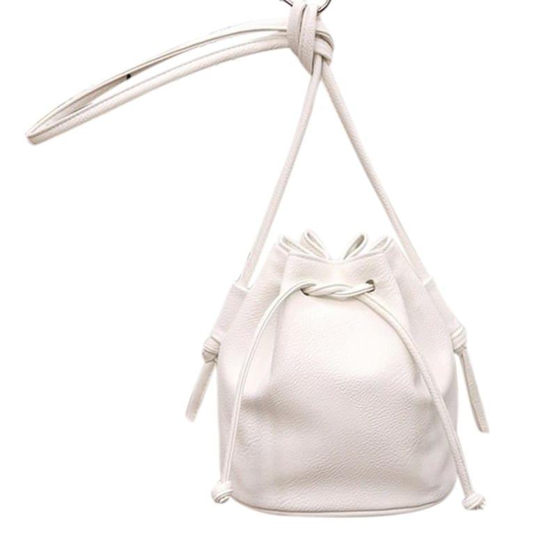 Small Womens Messenger Bag - White - Shoulder Bags
