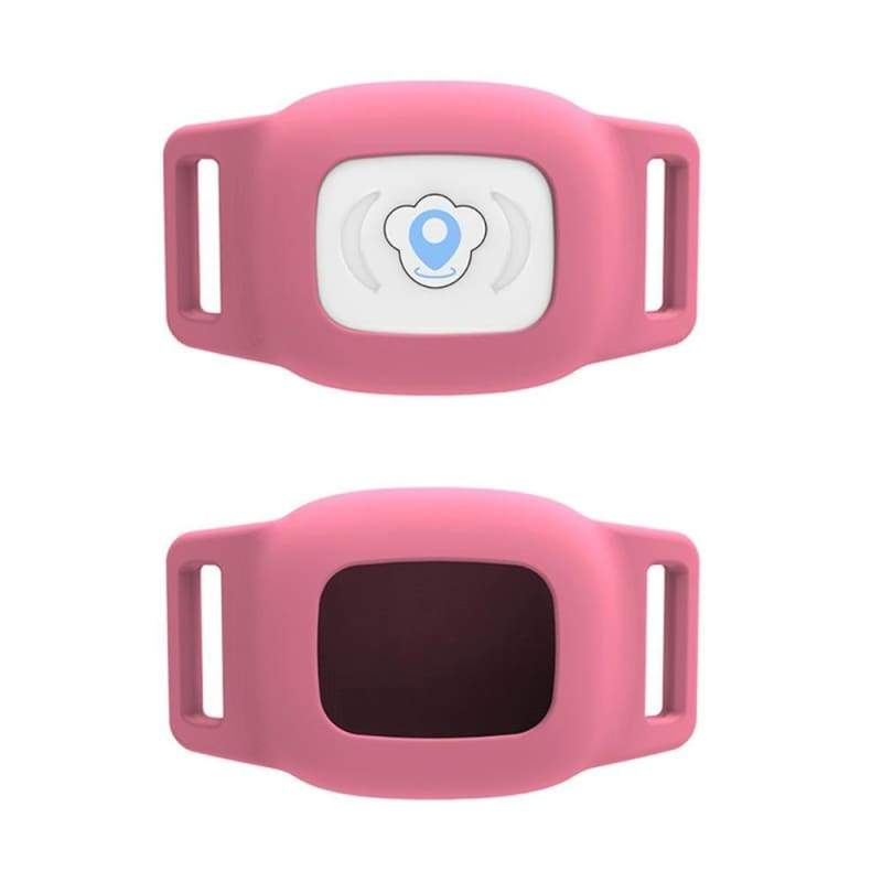 Smart GPS Pet Collar Tracker - Pink - GPS Trackers