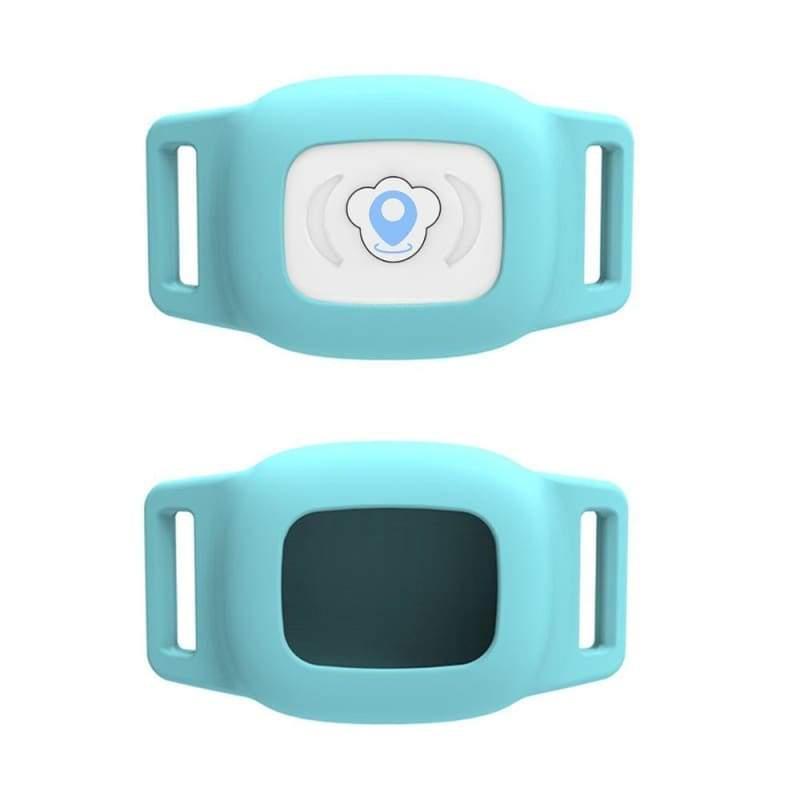 Smart GPS Pet Collar Tracker - Blue - GPS Trackers