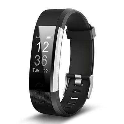 Smart Sports Wristband Plus HR Fitness Tracker - Black - Smart Wristbands