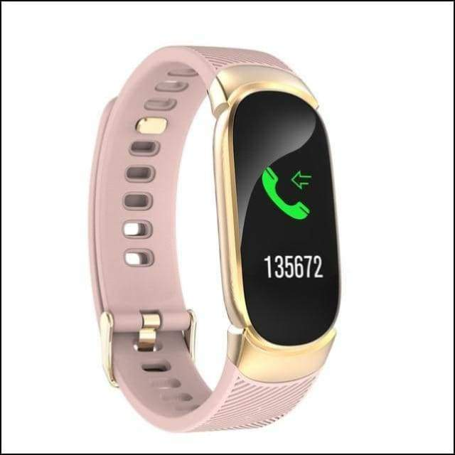 Sport Smart Watch Fitness Bracelet - QW16 Gold Color / not have retail box
