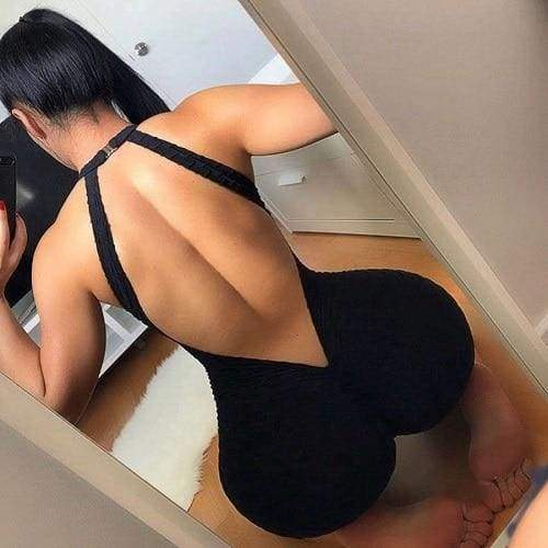 Sportswear Fitness Wear Just For You - Black / L - Yoga Sets