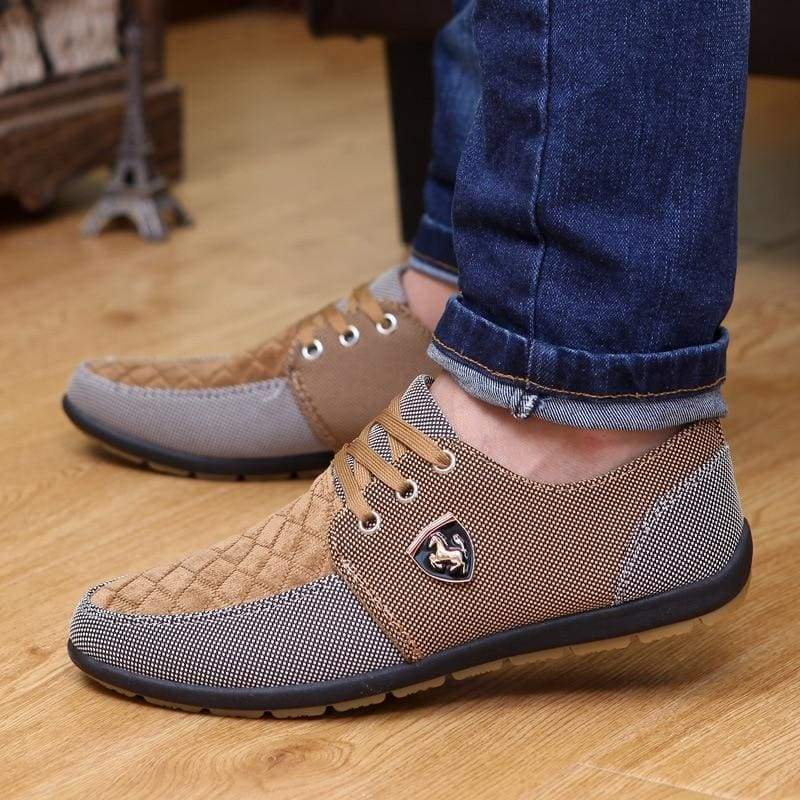 Summer Breathable Sneakers - Mens Casual Shoes