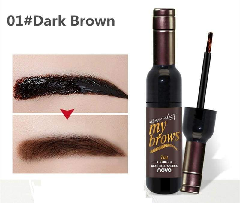 Tattoo Brow Gel Tint Just For You - 01dark brown - Eyebrow Enhancers