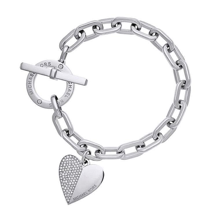 Trendy Heart Bracelet - Chain & Link Bracelets