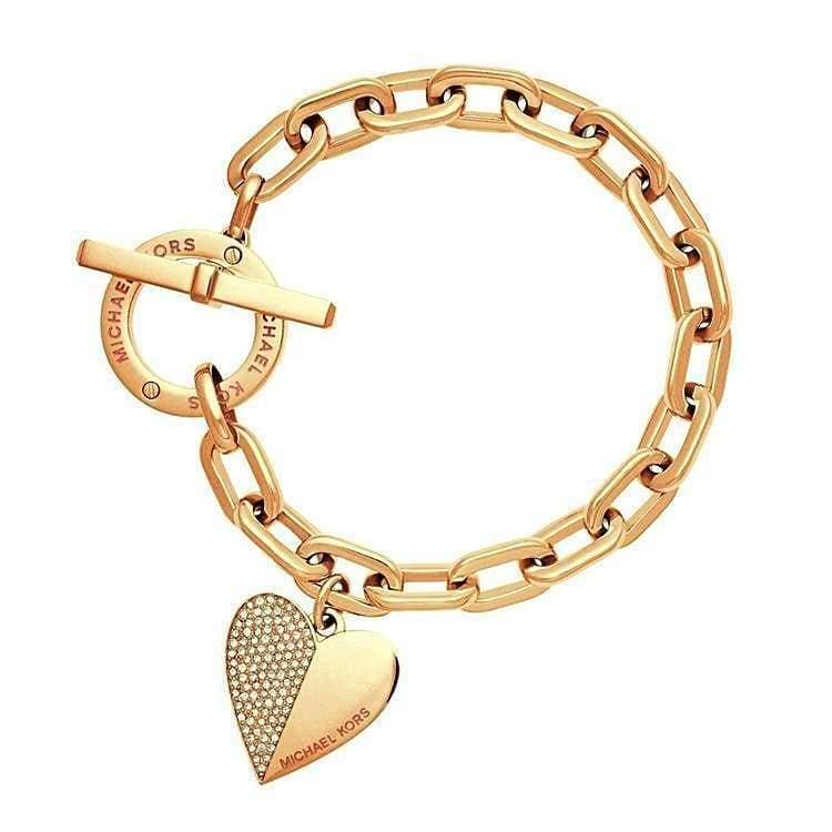 Trendy Heart Bracelet - G - Chain & Link Bracelets