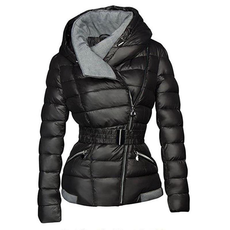 Ultra Light Hooded Jacket - Black / S - Parkas