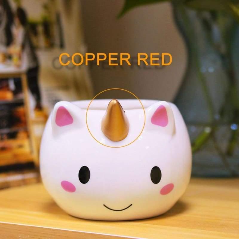 Unicorn Mugs Cup for kids - copper - Mugs