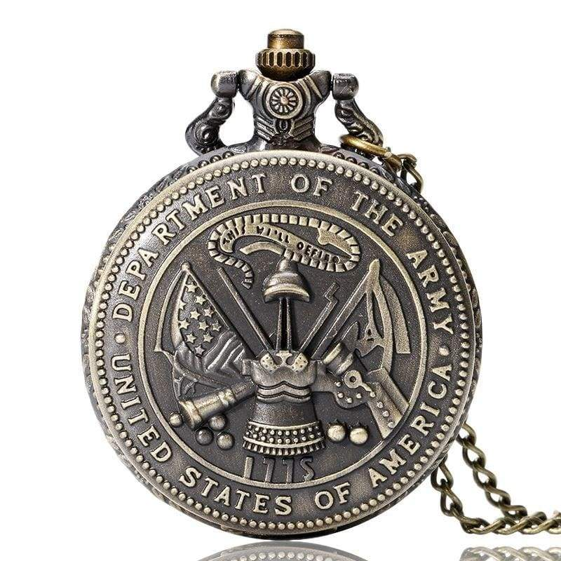 US Army Navy Air Force Marines Corps firefighter Watch - Army - Pocket & Fob Watches