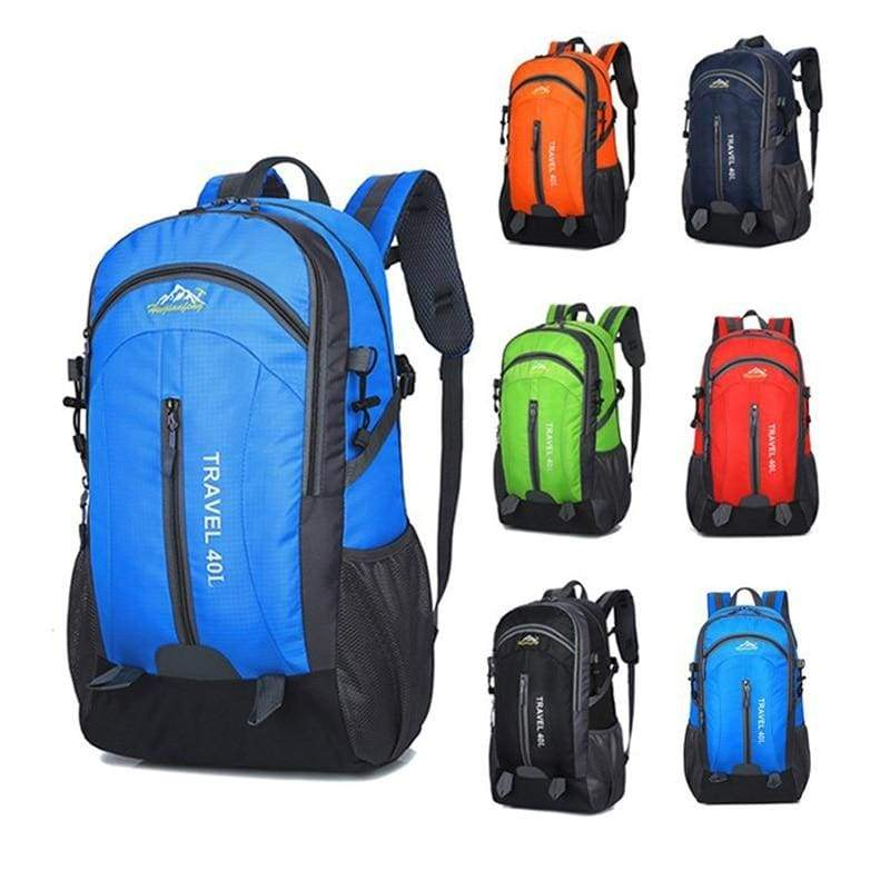 USB Charging Waterproof Backpack - Backpacks