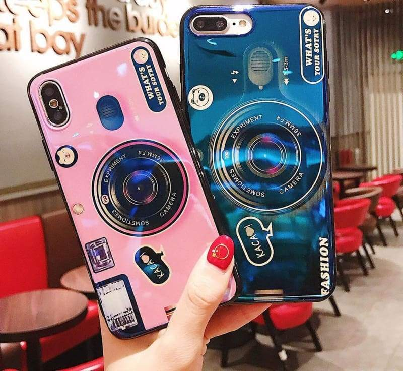 Vintage Camera Phone Case - Fitted Cases