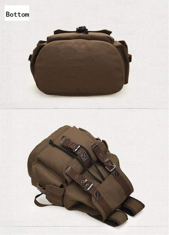 Vintage canvas backpack Just For You - Backpacks