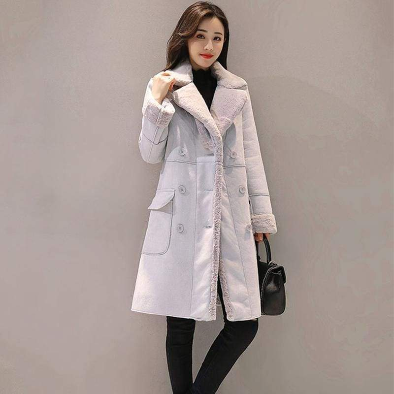 Warm Trench Coats Just For You - Gray / S - Women Coat