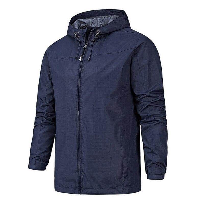Waterproof Coat Windproof Warm Just For You - 01 dark blue 9 / 4XL - Hiking Jackets