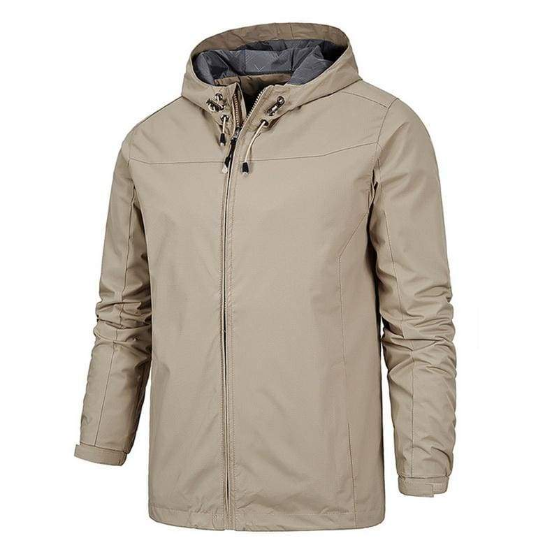 Waterproof Coat Windproof Warm Just For You - 01 khaki 2 / 4XL - Hiking Jackets