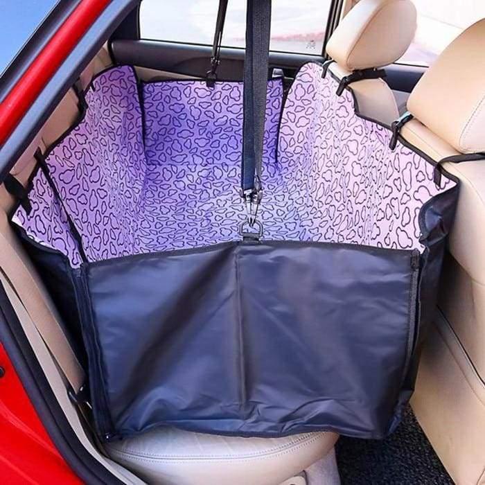 Waterproof dog car seat cover - Purple Cloud / 130x 150x 38cm - Dog Carriers