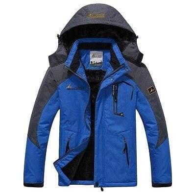 Waterproof Jacket For Men - Blue / L