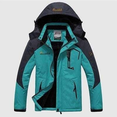 Waterproof Jacket For Men - Moon Blue / L