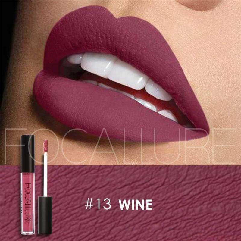 Waterproof long-lasting matte liquid lipstick - 13 - Lip Gloss